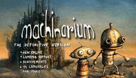 Machinarium: Definitive Version - Steam-Rip от Let'sРlay
